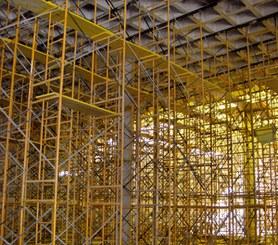 Se mantiene como material portante hasta el fraguado del concreto