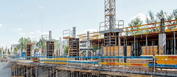 Plataforma Universal para construcción de columnas