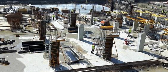 Sistema rentable y seguro para la construcción de columnas