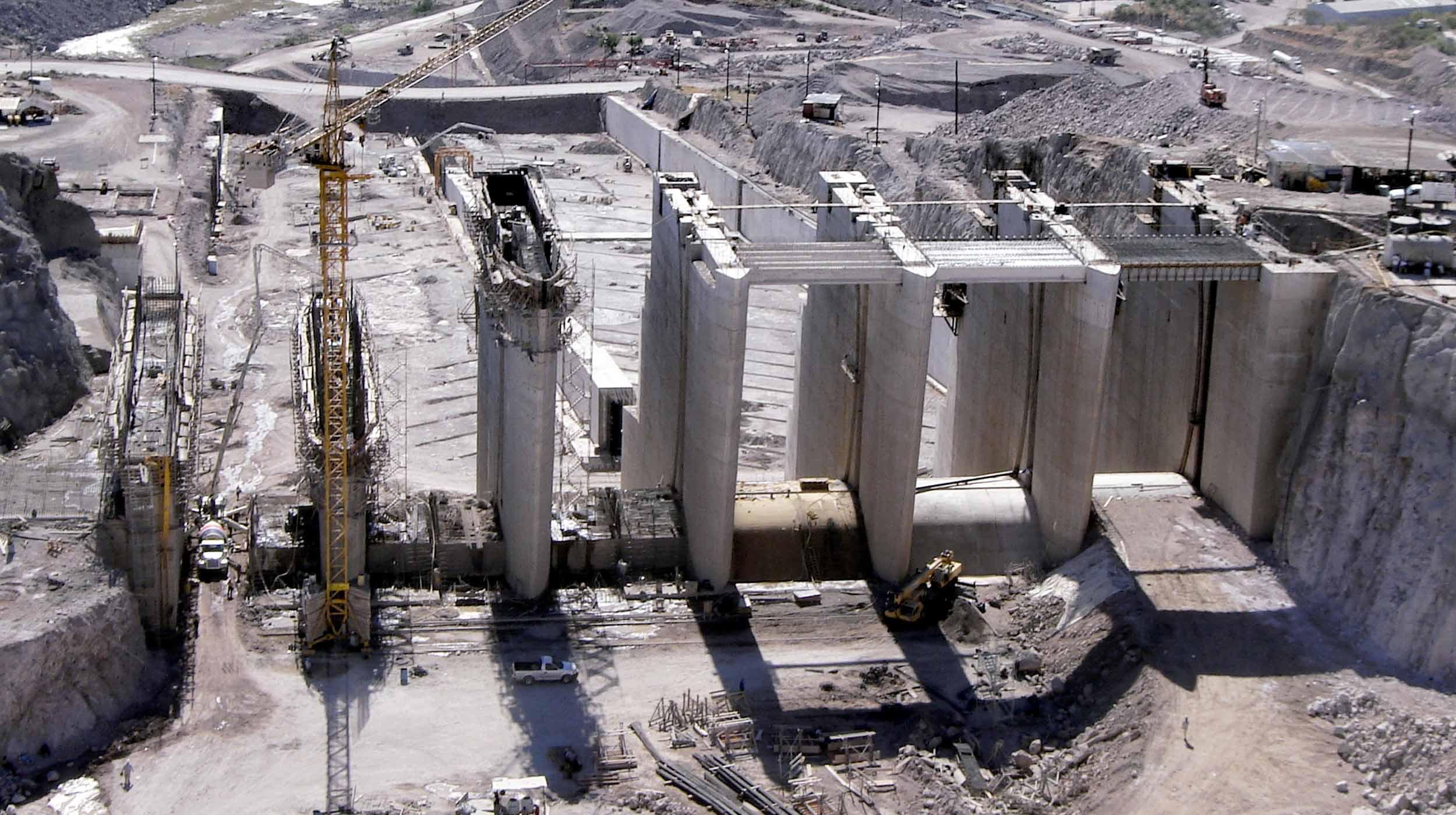 El Proyecto Hidroeléctrico El Cajón, ubicado sobre el río Santiago, es la mayor obra de infraestructura realizada en México en los últimos 10 años.