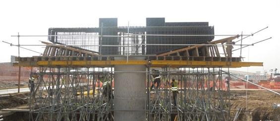 Distribuidor vial Ixtapaluca, México
