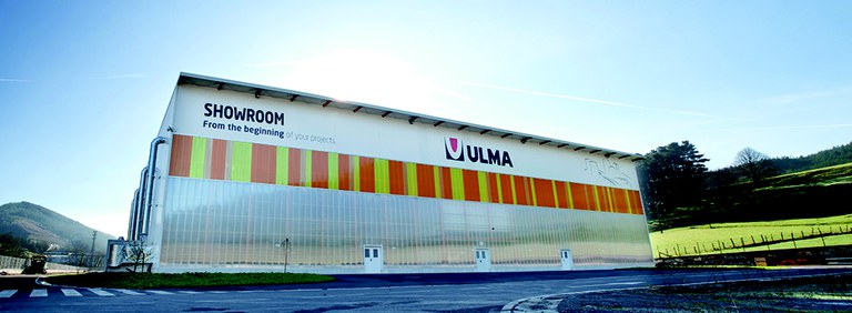Showroom de ULMA Construction en la sede central