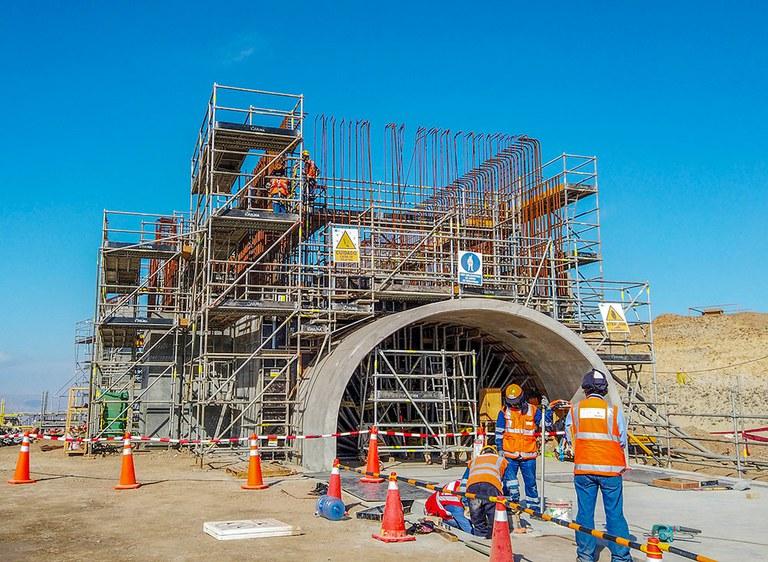 Soluciones de ingeniería eficientes y seguras en el proyecto de construcción de Mina Justa, Perú