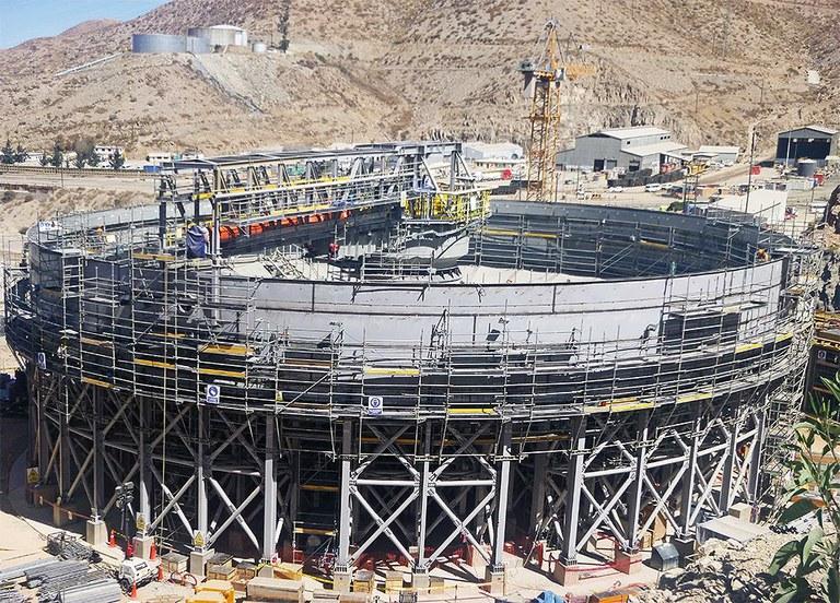 Despliegue de soluciones en la mina peruana de Toquepala