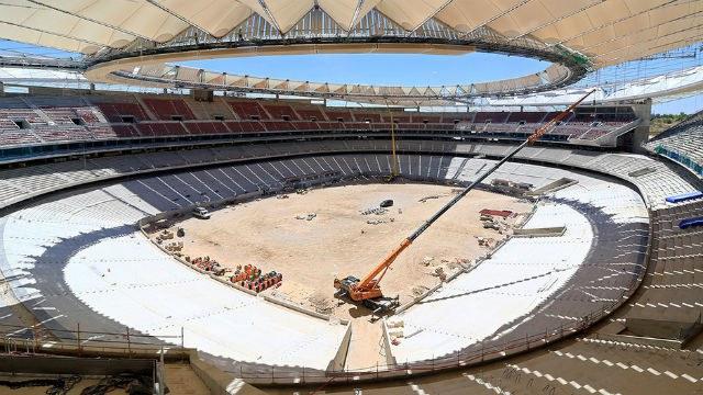 ULMA participa en la inauguración del estadio Wanda Metropolitano en Madrid, antes llamado La Peineta